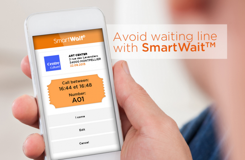 Avoid Waiting Lines With SmartWait™ mobile app