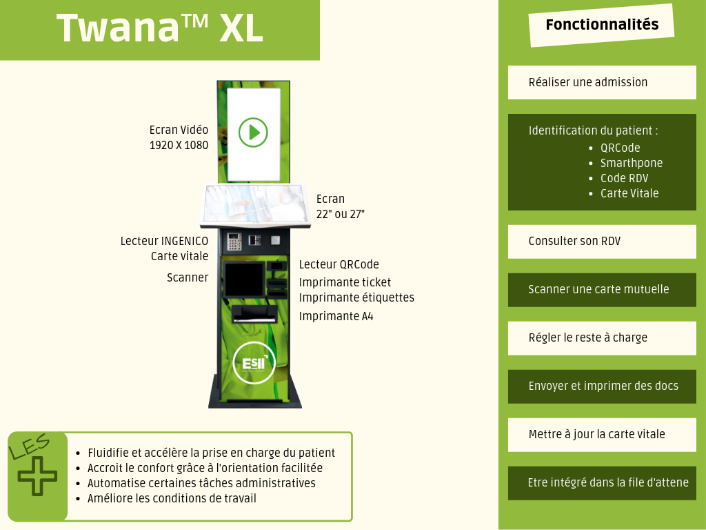 Twana XL hopital clinique